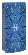 Ice Flower Fractal Portable Battery Charger