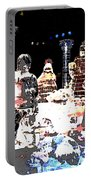 Ice Sculptured Nativity Scene Posterized Portable Battery Charger