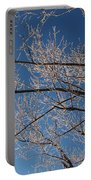 Ice Storm Branches Portable Battery Charger