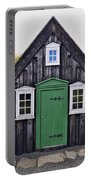 Icelandic Old House Portable Battery Charger