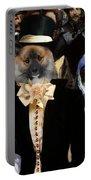 Icelandic Sheepdog Art Canvas Print Portable Battery Charger