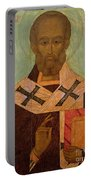 Icon Of St. Nicholas Portable Battery Charger