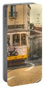 Iconic Lisbon Streetcar No. 28 Iv Portable Battery Charger