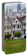 Iconic Painted Ladies Portable Battery Charger