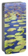 Idyllic Pond Portable Battery Charger