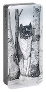 Ihasa In The Woods Portable Battery Charger by Joette Snyder