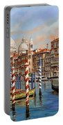 Il Canal Grande Portable Battery Charger by Guido Borelli