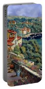Il Promontorio Portable Battery Charger by Guido Borelli
