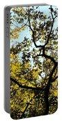Illuminated Oak Tree Portable Battery Charger