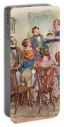 Illustration For A Christmas Carol Portable Battery Charger