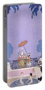 Illustration From A Book Of Fairy Tales Portable Battery Charger