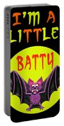I'm A Little Batty Portable Battery Charger