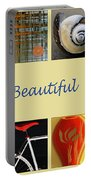 Image Mosaic - Promotional Collage Portable Battery Charger by Ben and Raisa Gertsberg