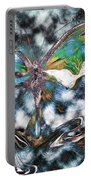 Imagine Number 2 Butterfly Art Portable Battery Charger