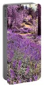 Img 4892_ Purple Lupine_ Yosemite National Park  Portable Battery Charger