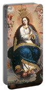 Immaculate Virgin Victorious Over The Serpent Of Heresy Portable Battery Charger