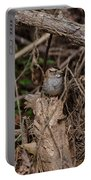 Immature White-throated Sparrow Portable Battery Charger