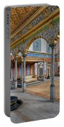 Imperial Hall Of Harem In Topkapi Palace Portable Battery Charger