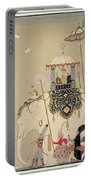 Imperial Procession Portable Battery Charger by Georges Barbier