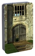 Imposing Front Door Of Titchfield Abbey Portable Battery Charger