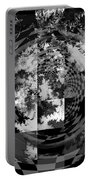Impossible Reflections B/w Portable Battery Charger