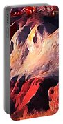 Impression Of Capitol Reef Utah At Sunset Portable Battery Charger