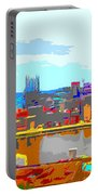 Impressionist Pittsburgh Across The River 2 Portable Battery Charger