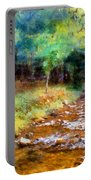 Impressionist Rocky Creek Portable Battery Charger