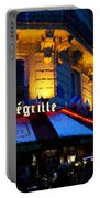 Impressions Of Paris - Latin Quarter Night Life Portable Battery Charger