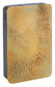 Imprints - Abstract Art By Sharon Cummings Portable Battery Charger