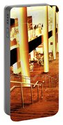 In A City Of Gold Portable Battery Charger