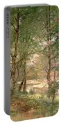 In A Fairy Woodland Portable Battery Charger