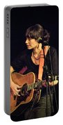 In Concert With Folk Singer Pieta Brown Portable Battery Charger