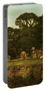 In Country Churchyard Wittington Worcester Portable Battery Charger