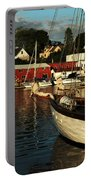 In Harbor Portable Battery Charger by Karol Livote
