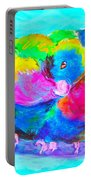 In Love Birds - Lorikeets Portable Battery Charger