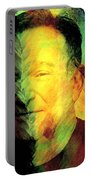 In Memory Of Robin Williams Portable Battery Charger
