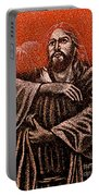 In The Arms Of Christ Portable Battery Charger