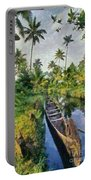 In The Backwaters Of Kerala Portable Battery Charger