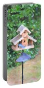 In The Birdhouse - Oil Portable Battery Charger
