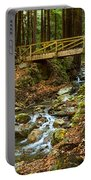 In The Forest - Limekiln State Park In California Portable Battery Charger