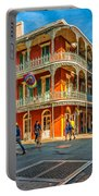 In The French Quarter - Paint Portable Battery Charger