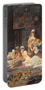 In The Harem Portable Battery Charger by Jose Gallegos Arnosa