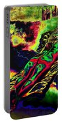 In The Kaleidoscopic Clutches Of Books Portable Battery Charger