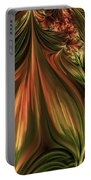 In The Midst Of Nature Abstract Portable Battery Charger