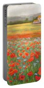 In The Poppy Field Portable Battery Charger