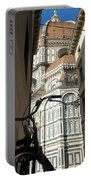 In The Shadow Of Il Duomo Portable Battery Charger