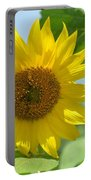 In The Sunflower Field Portable Battery Charger