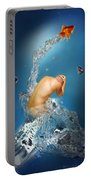 In The Water Portable Battery Charger by Mark Ashkenazi