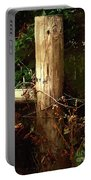 In The Woods By The River Portable Battery Charger